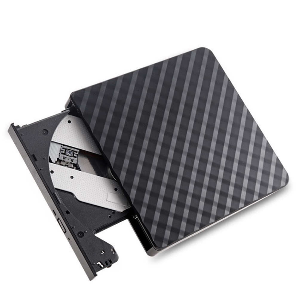 Image 5 - Plaid Slim USB 3.0 External Optical Drive CD/DVD RW ROM Player Burner Reader-in Optical Drives from Computer & Office