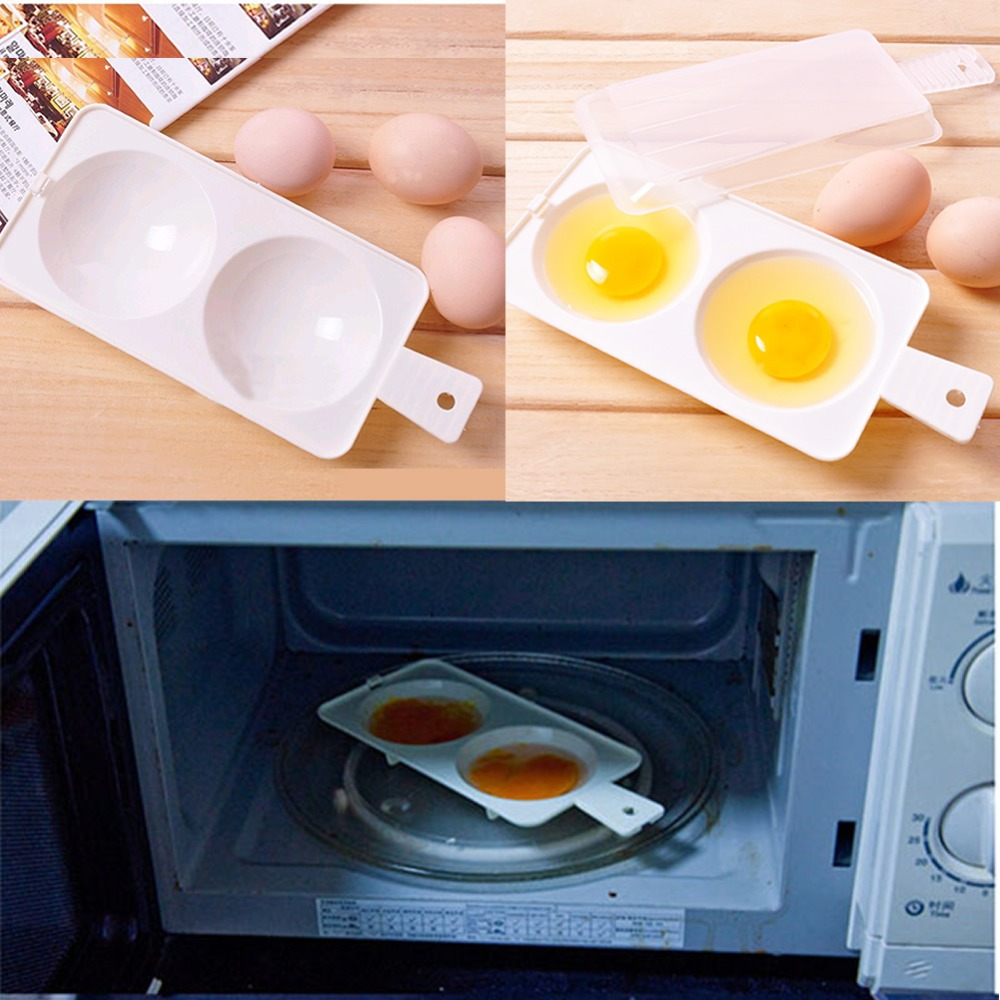 Portable Kitchen Tool 1pc Silicone Microwave Egg Cooker New Design For Cookware Poached Cooking Boilers In Poachers From Home Garden On