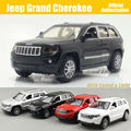 1:32 Scale Diecast Alloy Metal Car Model For Jeep Grand Cherokee Collection Model Pull Back Toys Car With Sound&Light