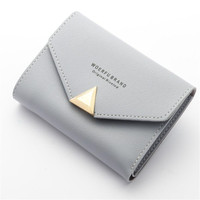 Famous Luxury Brand Baellerry Multifunction Fashion Women S Mini Pocket Card Wallet PU Leather Short Small