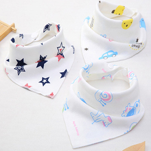 цена на bibs burp cloths baby bandana babador bandana baby feeding triangle stuff babies comfort waterproof bib bandan