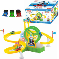 New Hot Children's educational toys electric Thom Train Track Park Ferris wheel toys for children Christmas gift brinquedos
