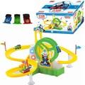 Nueva hot niños educativo toys thomas vía del tren eléctrico parque ferris rueda toys regalo de navidad para niños brinquedos