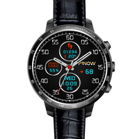 Классический круглый Smart Watch телефон с 3G камера, Wi Fi, Bluetooth GPS мониторинга сердечного ритма лучшие часы для друга и hunsband