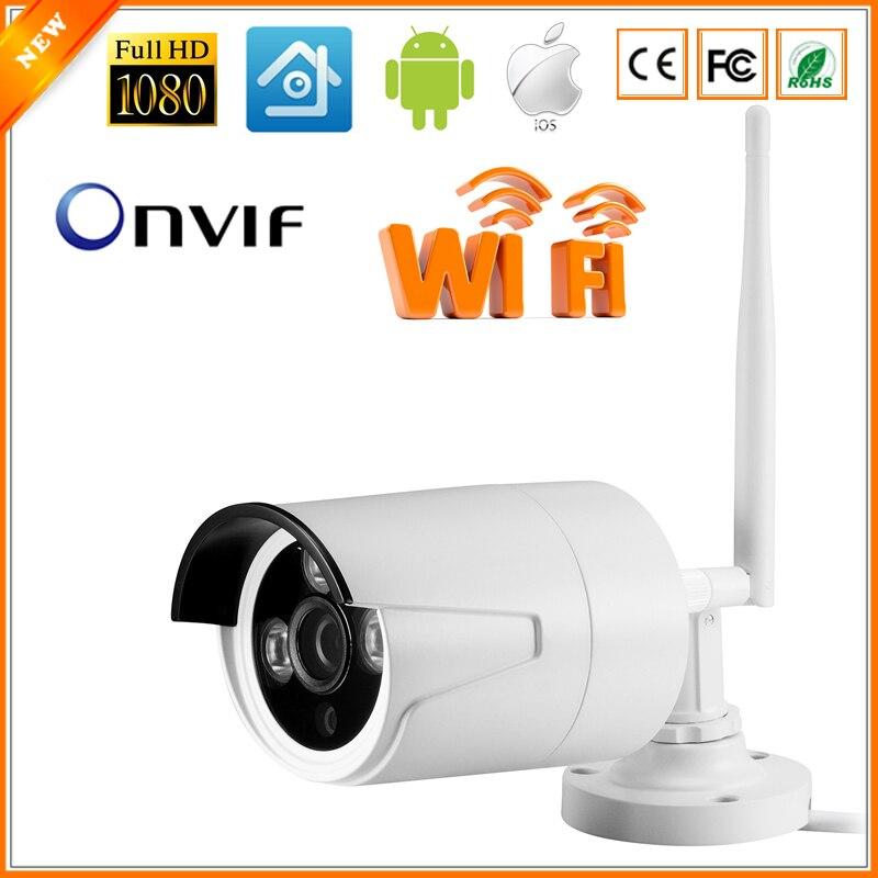 bilder für 802,11 B/G WIFI Überwachung CCTV-Kamera ip 720 P/960 P/1080 P Wifi IP-Kamera ONVIF 2,0 3 Stücke Array LED mit wasserdicht lan Kabel