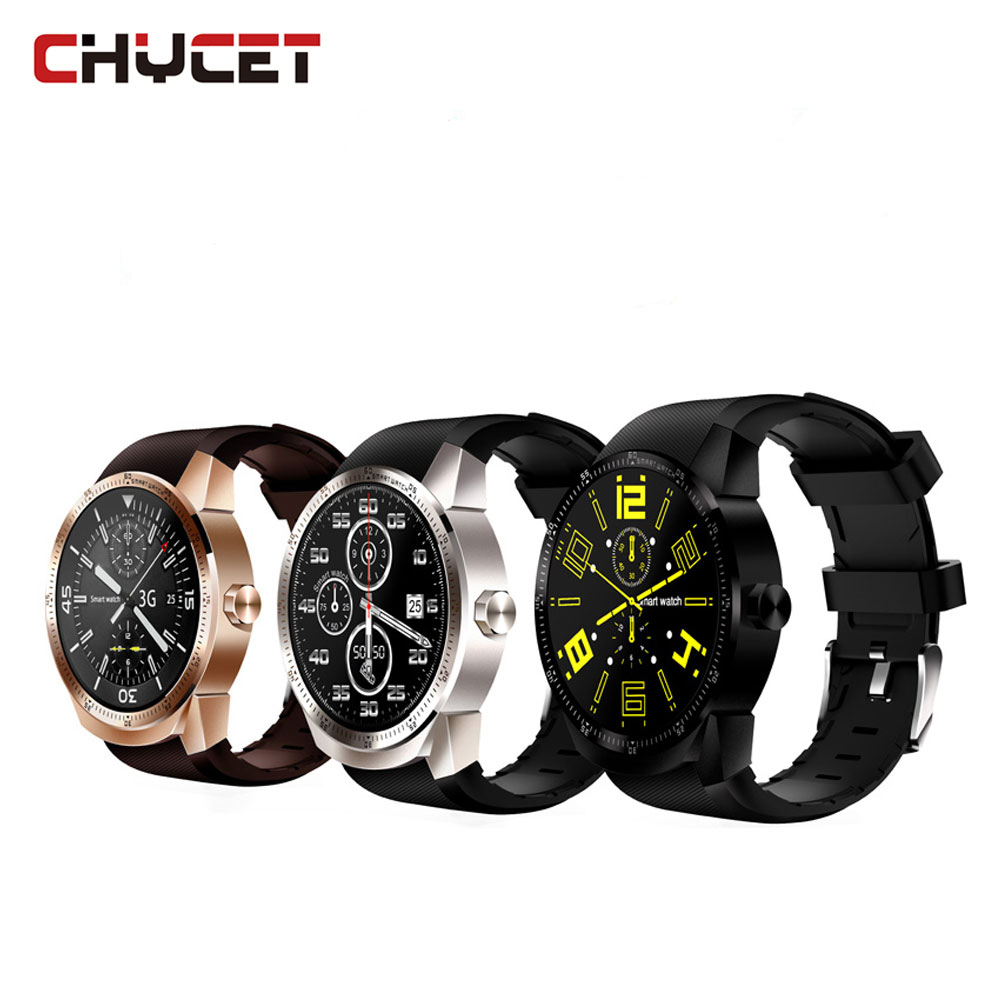 Chycet K98H Smart Watch Android Smart Band Heart Rate Monitor phone MTK6572A Pedometer Bracelet with 3G GPS Smartwatch microwear l1 smartwatch phone mtk2503 1 3 inch bluetooth smart watch gps heart rate measurement pedometer sleep monitor