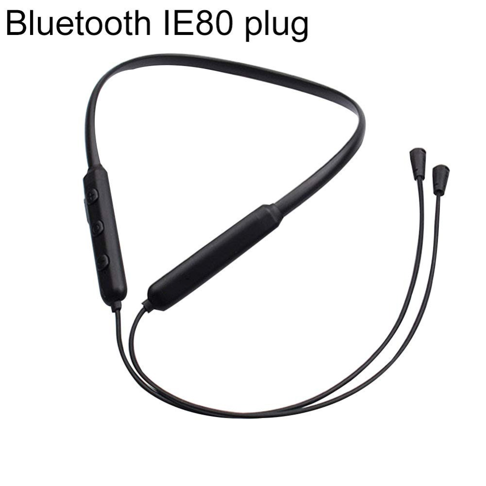DIY Plug Wireless Bluetooth 4.1 CSR8645 a2dp handsfree aptx Mic Replacement Cable for Sennheiser IE80 IE8 IE8i IE80S headphone