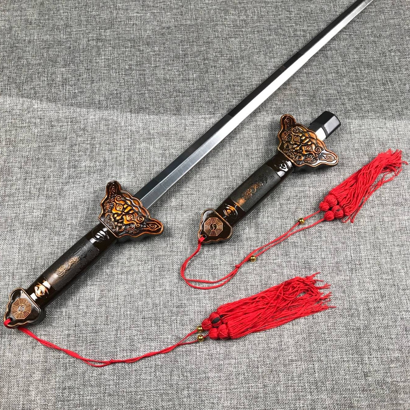 Shaolin Sword Wushu Sword Martial Arts Kung Fu Tai Chi Extend Perform Scalable Sword Magic Blade Outdoor Fitness Products