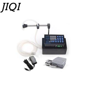 JIQI Elektrikli sıvılar dolum makinesi MINI şişelenmiş su doldurma Dijital Pompa parfüm içecek su süt zeytinyağı 110 V 220 V