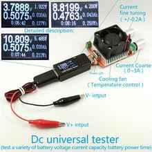 Батареи Тестер, измеритель Мощности вольтметр амперметр емкость 18650 Литий-полимерный nimh цинковые щелочные никель-кадмиевые ртуть