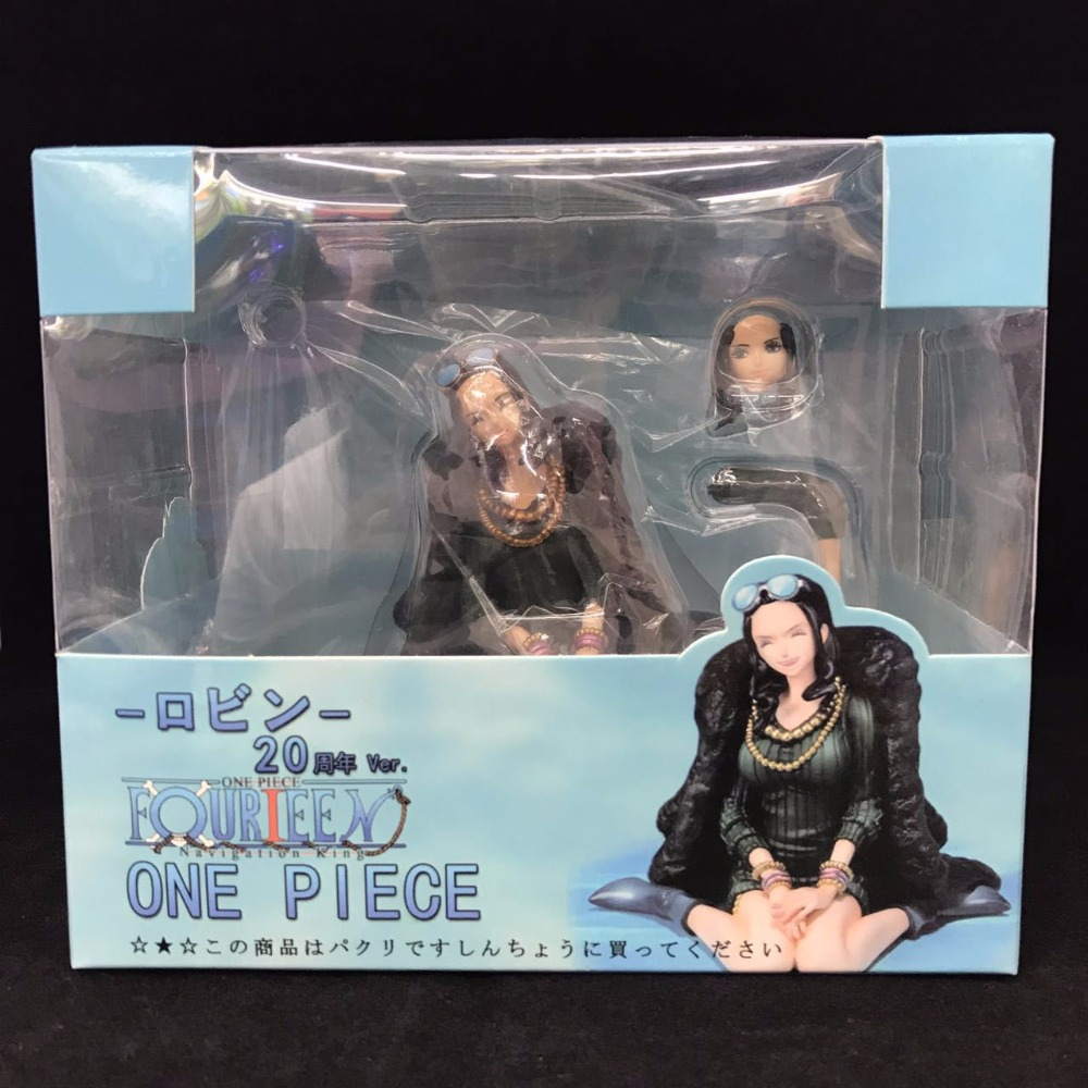 Figuarts Zero One Piece Nico Robin 20th Anniversary Ver Pirate Figurine Statue