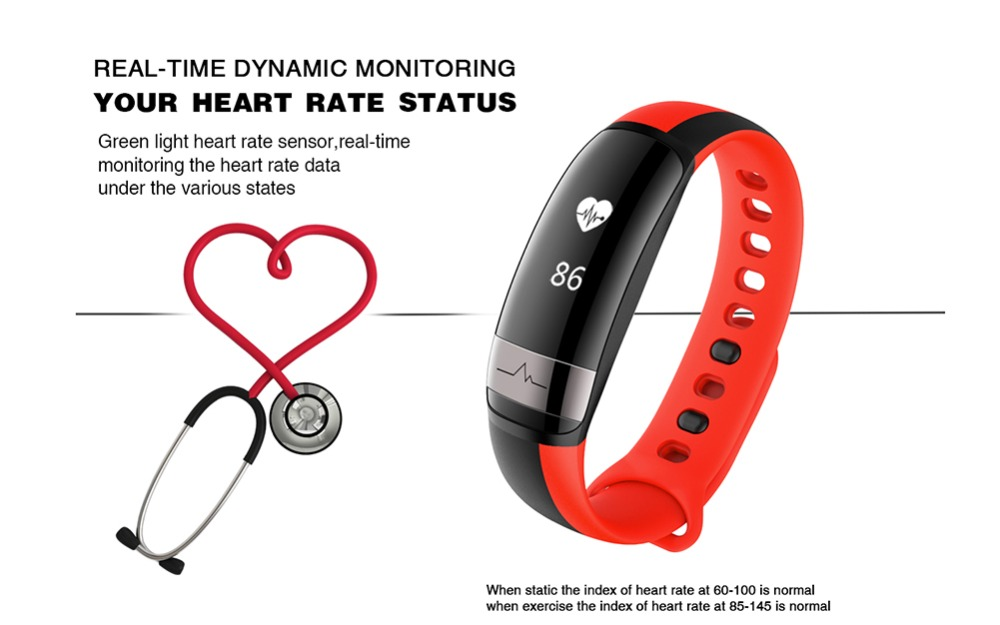 M6 Heart Rate Monitor Smart Wristband Waterproof Pedometer Bracelet Blood Fitness Tracker Wrist Band Watch M7 For Android iOS 3
