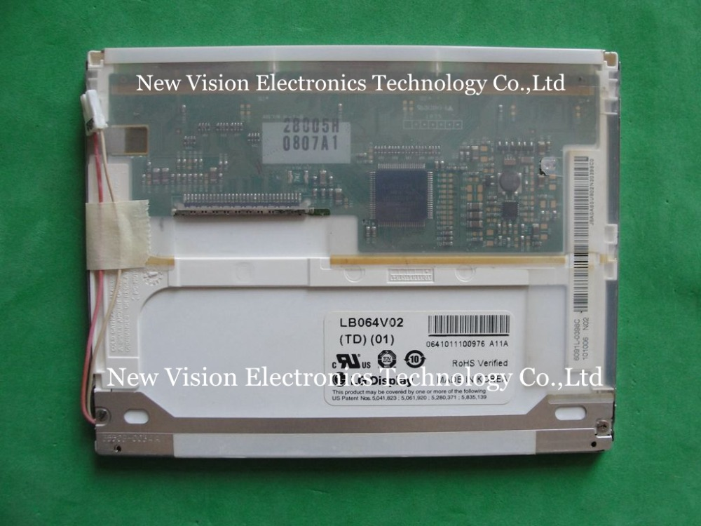 LB064V02 TD 01 LB064V02 TD01 LB064V02 A1 Original 6 4 inch 640 480 VGA TFT LCD