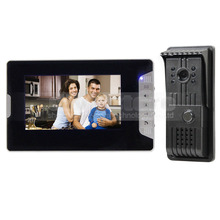 DIYSECUR 7″ Video Door Phone Doorbell Intercom System 1 Camera 1 Monitor Aluminum Alloy Camera 700TVL