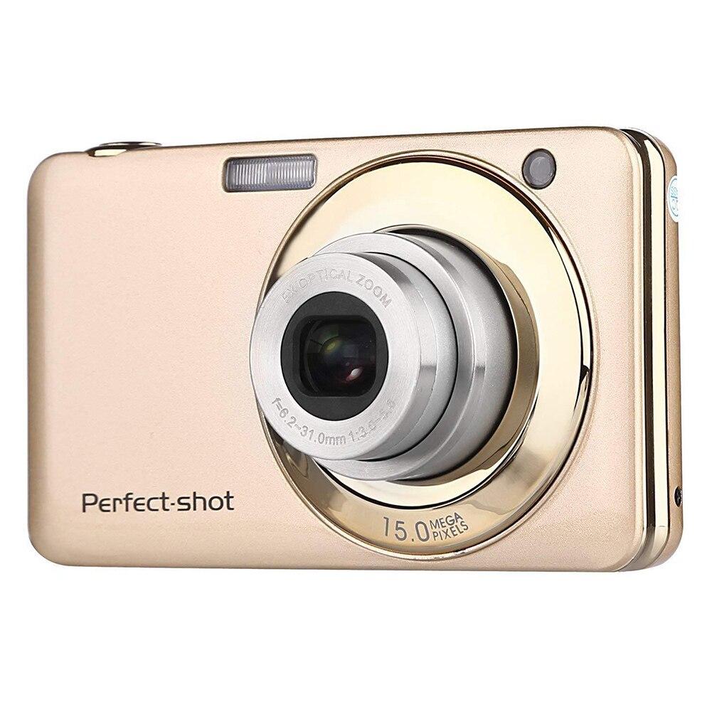 24MP cadeaux appareil Photo numérique batterie au Lithium Zoom optique Photo Portable Anti-secousse Compact haute définition coloré enregistrement vidéo