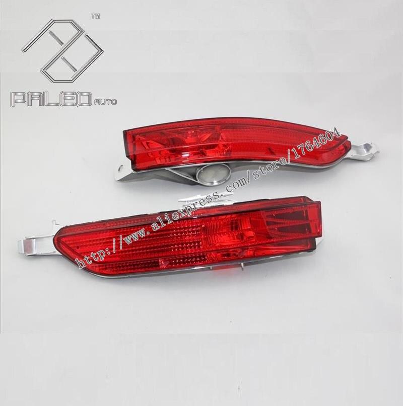 ФОТО Free Shipping For VW Touareg 2011 2012 2013 2014 Rear Fog Light Rear Bumper Reflector 7P6945701E 7P6945702E