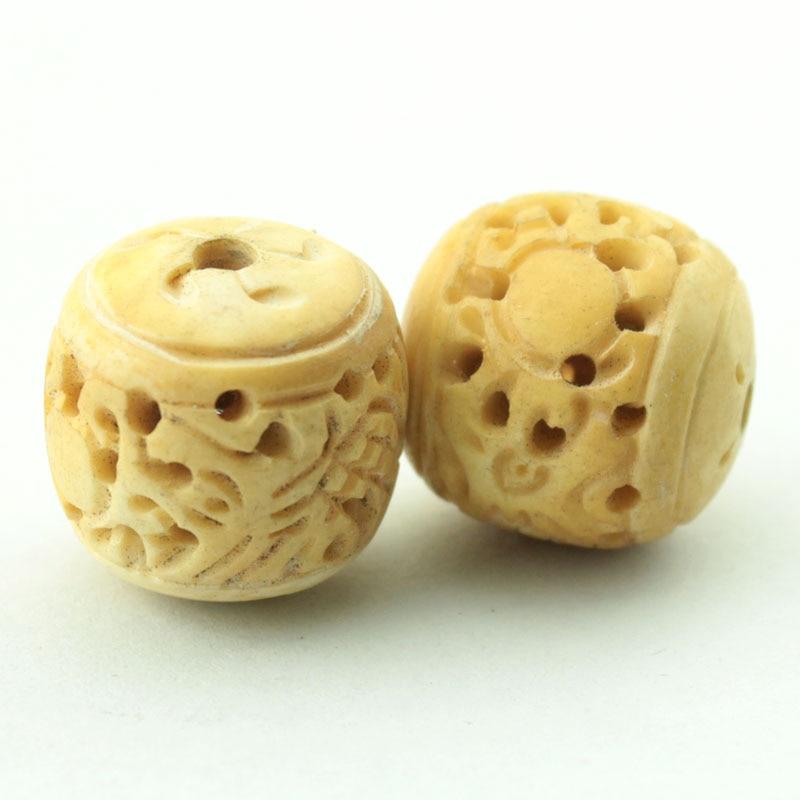 Bovine Bone Dragon Ball Hand Carved Dice Beads Pendant For Necklace And Bracelet 4pcs Lot 22mm Bovine Bone Lot Lotbone Dice Aliexpress