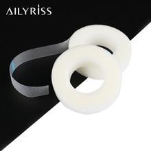 5 рулонов волокно для наращивание ресниц Бесплатные подушечки для глаз микропорная лента Белая лента под глазные подушечки бумага для Накладные ресницы макияж инструмент
