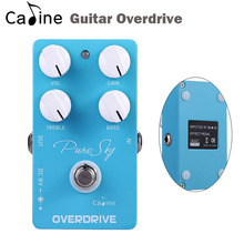 New Caline Guitar overdrive Effect Pedal Drive Booster Ture Bypass Guitar Parts & Accessories