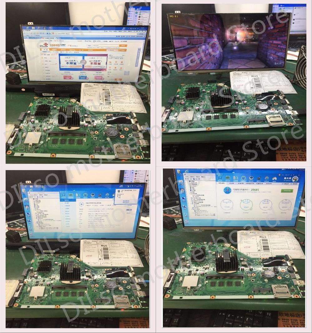 KEFU K501UX For ASUS K501UX K501UB K501U laptop motherboard K501UX mainboard rev2.0 i5-6200U cpu with GTX 950M Graphics card