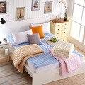 Gruesa Caliente Plegable Simple O Doble Dormitorio de los Estudiantes de Moda de NUEVA Topper Colchón de Cama Acolchada