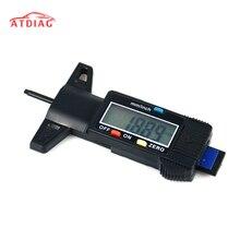 Цифровой измеритель Глубина рисунка протектора Измеритель для автомобилей грузовых автомобилей и внедорожник 0-25,4 мм