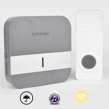 CTVMAN Doorbell Wifi Home Wireless Door Bell Support 110~230V Wireless Doorbell 300m Waterproof Push Button EU/US/UK plug