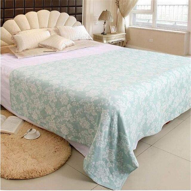 coton adulte serviette couverture sur le lit dt courtepointes couvre lit canap jeter - Couverture Lit