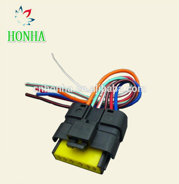 FCI 6 pin Mass air flow waterproof female automotive wire connector ...