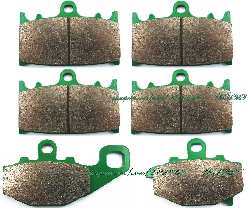 Brake Pads Set for KAWASAKI ZX6R ZX-6R ZX600 ZX 6R 600 NINJA 1994 1995 1996 1997 / ZX9R ZX-9R ZX900 ZX 9R 900 R B1-B2 1994 1995 full fairing kit for kawasaki zx6r 1994 1995 1996 1997 ninja 636 zx 6r 94 97 white black purple customize fairings set ef24