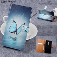 For Xiaomi Redmi Note 4 Case Colorful Pattern PU Leather PC Card Holder Wallet Flip Cover