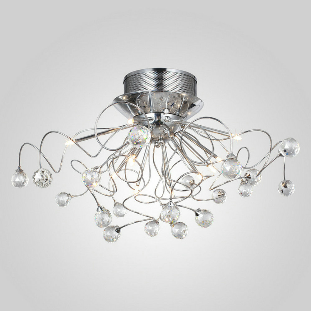 Aliexpress buy mamei free shipping flush mount comtemporary aliexpress buy mamei free shipping flush mount comtemporary crystal ceiling chandelier light fixture 11 lights g4 3w led bulbs included from reliable arubaitofo Gallery