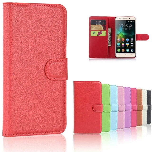 Leather Case for Huawei G Play Mini CHC-U01 chc u01 / Honor 4C 4 C CHM-U01 CHM-CL00 CHM-UL00 C8818 CHM u01 Phone Cover Flip Case