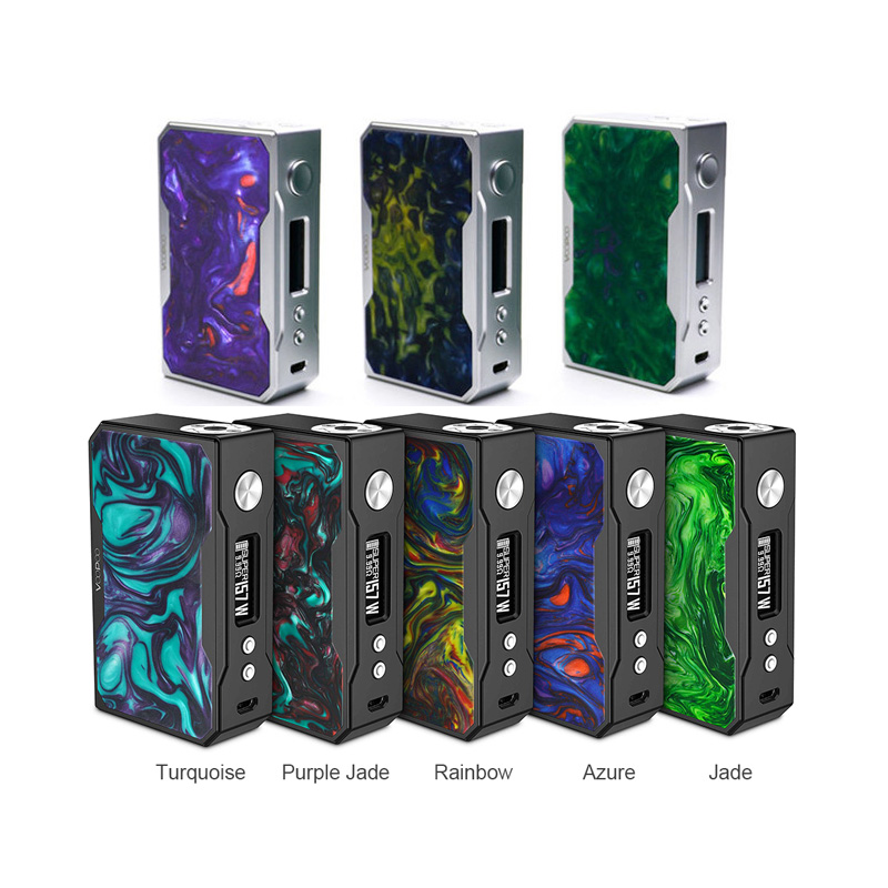 Original VOOPOO DRAG 157W TC Box MOD e cigarette 157W 18650 box mod Vape with US GENE chip Temperature Control Resin Box mod new arrival voopoo drag 157w tc box mod black drag resin 157w box mod vape with us gene chip temperature control resin box mod