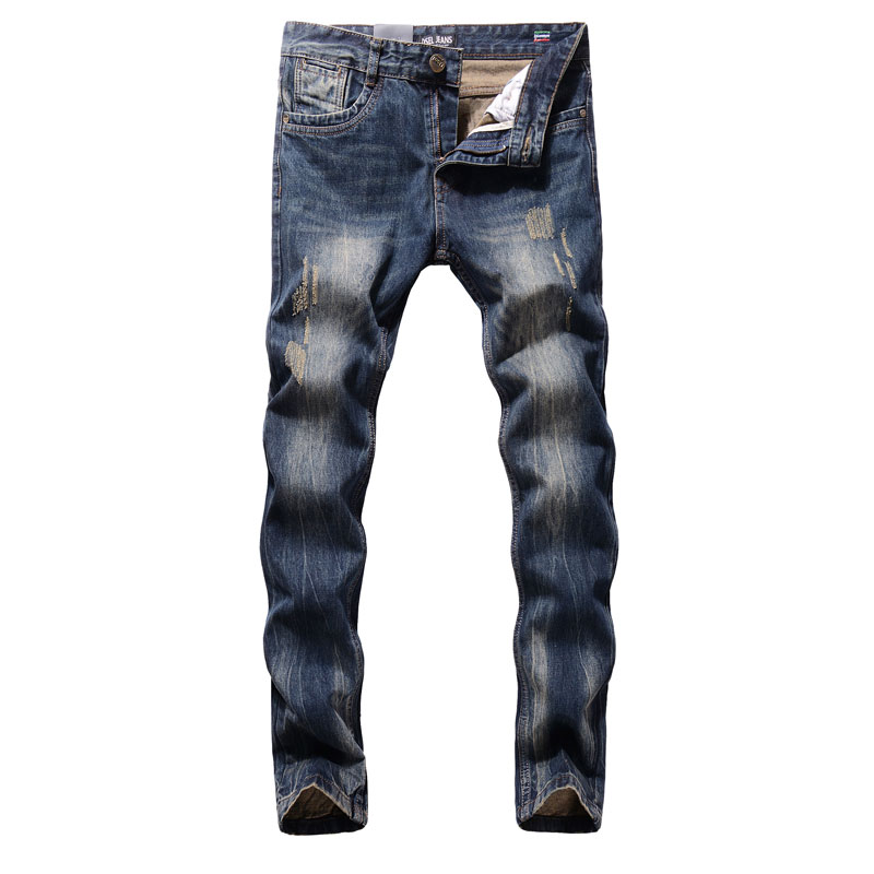 2017 New Hot Sale Fashion Men Jeans Dsel Brand Straight Fit Ripped Jeans Italian Designer Distressed