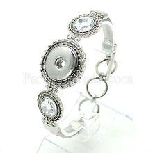 Hot wholesale Snap Bracelet&Bangles High quality metal Bracelets fit 18mm DIY Partnerbeads Snaps Button Jewelry DS5811
