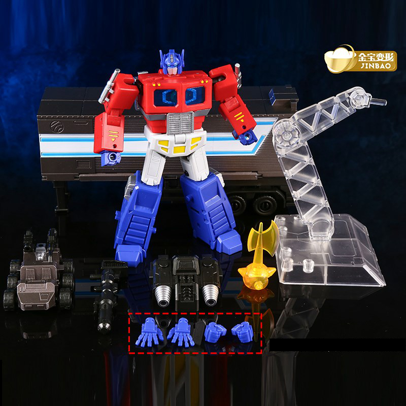 Transformation Mini OP Commander With Trailer Roller Flying Backpack Jinbao  MPP10 MPP10-B MPP10 Action Figure Robot Toys Gifts