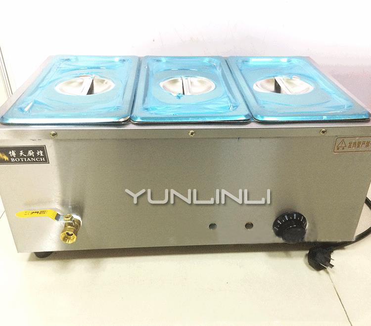 Commercial Food Heat Insulation Furnace Stainless Steel Heat Preservation Machine Electric Heat Insulation Container CH-3