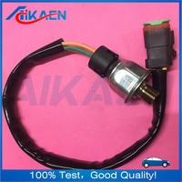 224 4536 3PP6 1 2244536 com o plugue do Sensor de Pressão Heavy Duty Para CAT C7 3126 C15 MXS BXS NXS|Regulador da pressão de óleo| |  -