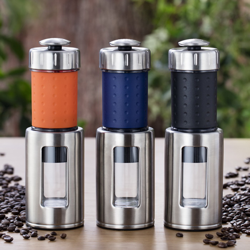 Portable Hand pressure Coffee machine Household outdoor Filter pressure coffee pot Italy concentrate