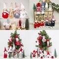 Новый милый ангел плюшевая кукла Рождественское украшение кулон креативная Рождественская елка украшения Рождественское украшение для дома Navidad - фото