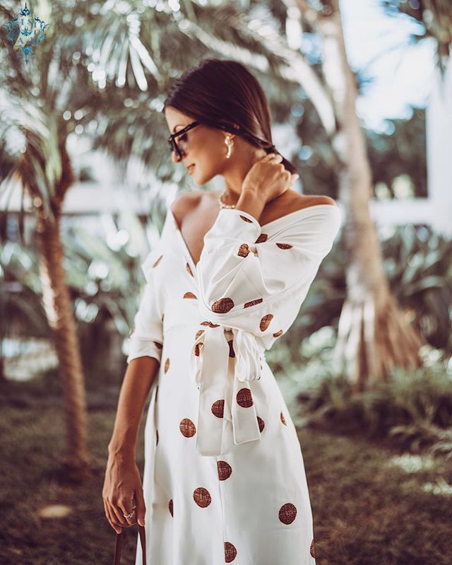 Ameision Plus Size 2019 Women Summer Vintage Sexy Dress Women Party Night Dot Elegant Maxi White Dress in Dresses from Women 39 s Clothing