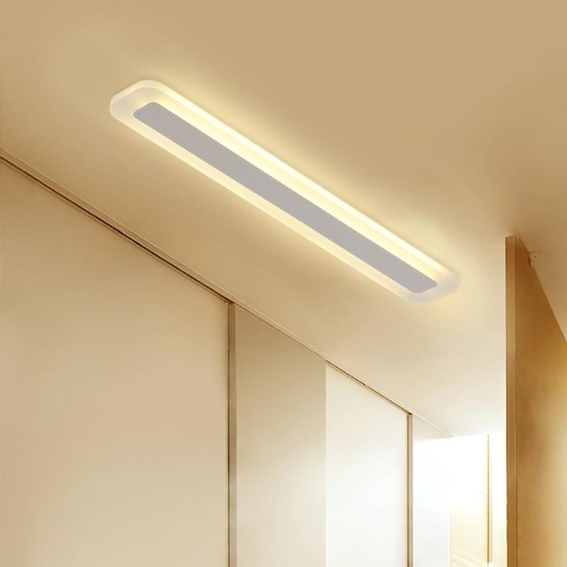 Modern Minimalism High brightness LED ceiling lights rectangular bedroom Livingroom aisl Ceiling lamp lighting lamparas de techo
