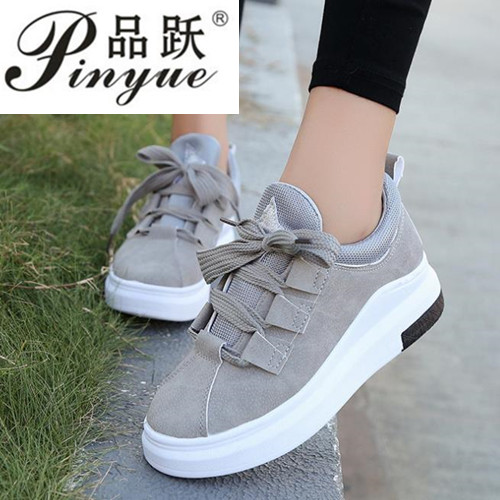 Fashion 2018 Breathable Women Sneakers Lady Casual Shoes Comfortable Platform Spring Student Sneakers size 35-42
