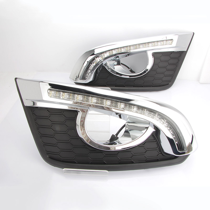 DRL For Holden Captiva 7 2013~2016 / Car Daytime Running Lights / Auto LED Day Driving Light With Cornering Lamp / Free Shipping