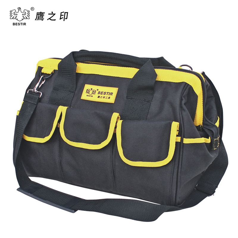 BESTIR Three Size THE Big PVC Fabric Oxford Tool bags Waterproof Case handbag Toolkit With Knapsack Belt 05133 laoa shoulders backpack tool bag multiction oxford fabric electrician bags knapsack for eletricista tools storage