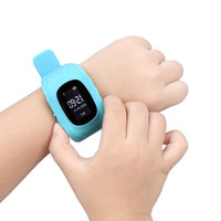 2017 Newest Children Gifts Q50 Child Kid Smart Watch GSM GPRS GPS Locator Tracker Anti Lost