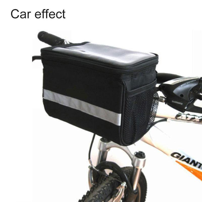 Cycling Bike Bicycle Front Head Top Frame Tube Bag