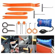 Super PDR Pump Wedge Locksmith Tools Lock Pick Set Open Car Door Lock Opening Tools Car Radio Panel Removal Tools