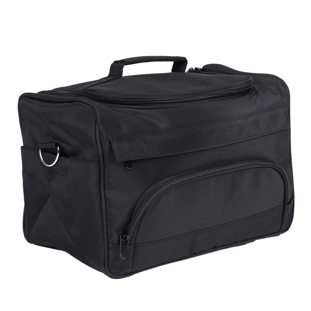 1Pcs Salon Hairdressing Tool Bag Portable Barber Hair Styling Storage Case Large Space Comb Scissors Hairdressing Bag with Strip1Pcs Salon Hairdressing Tool Bag Portable Barber Hair Styling Storage Case Large Space Comb Scissors Hairdressing Bag with Strip